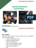 Principios Basicos de Electricidad Del Automovil