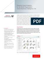 Oracle BI 12c Data Sheet 2745977