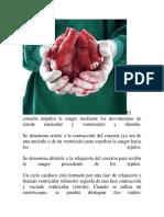 Corazon Sisteoles y Diastole