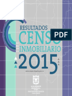 Censo Inmobiliario 2015. Bogotá