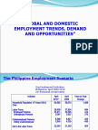 Global and Domestic Employment Trends Revised Power Point