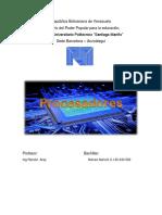 Monografía de Procesadores