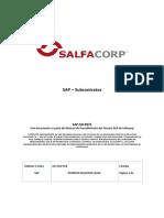 SAP - Operacion - SubContratos