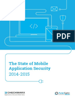 The State of Mobile Application Security 2014 20151