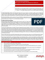 Avaya Battlecard IP Office Standard Professional Edition R42 2