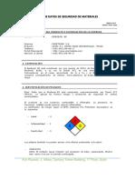 Material Safety Sheet DataENERTRADE 2016