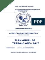 Plan Anual de Trabajo PADRE ABAD2017