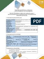 Guía de Actividades y Rúbrica de Evaluación_Paso 2_Conceptualización de La Dimensión Psicosocial