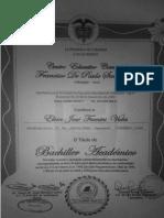 Diploma y Certificado