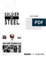 #Soldier of Steel Training Plan