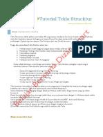 Tutorial Tekla Struktur DS