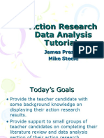 Action Research Data Analysis Tutorial