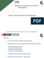 Cap III Tema III Control Vectorial en Chikungunya