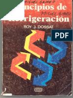 Principios de refrigeracion Roy Dossat