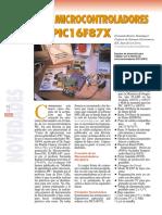 Curso de Microcontroladores PIC16F87X