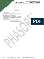 Elimination Test 2 Chem (12 Oct 2015)