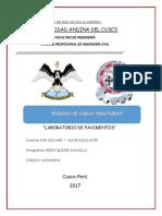 Informe de Caras Fracturadas