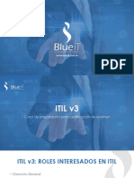Curso de IITIL -Blueit