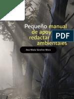 Pequeño Manual para Escribir Textos Ambientales