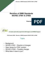 ITSC Seminar - 27001 27002 Update Philip Sy
