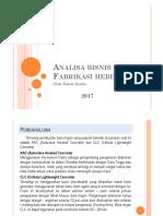 Analisa bisnis Hebel