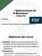 Aplicaciones de e Business Clase 02