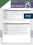 Atlas Appendices Specifications