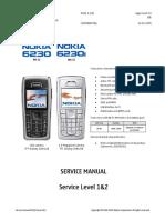 6230 i RH-12 RM-72 Service Manual Level 1&2 v3