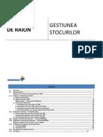 Manual - Gestiunea Stocurilor