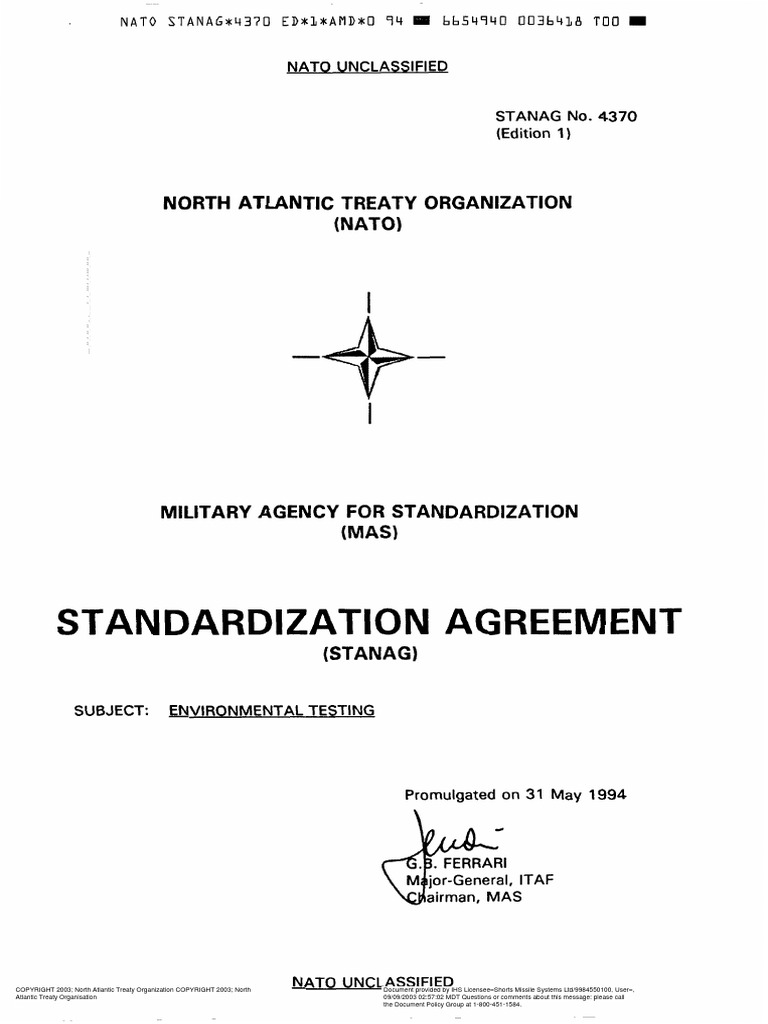 Stanag 4370pdf Nato Politics