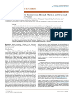Trivedi Effect - An Evaluation of Biofield Treatment on Thermal, Physical and Structural Properties of Cadmium Powder