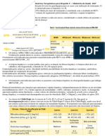 Resumo Protocolo Clínico e Diretrizes Terapêuticas Para Hepatite C - Ministério Da Saúde 2017