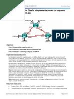 8.2.1.5 Lab - Designing and Implementing a VLSM Addressing Scheme