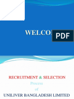 Recruitment and Selection Process of Unilever PPT