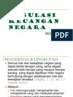 (2) Regulasi Keuangan Negara