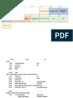 Itinerary Japan 2017 Fanyanto