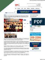 Tributo a Los Pioneros de La Inmigración Shizuokana Al Perú