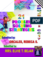 Project Problem Solving Rebeca Orcales