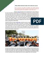 Delhi-based Startup Pillion Rides Kickstarts India's First E-bike Taxi Service
