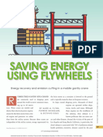Saving Energy Using Flywheels