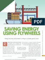 Saving Energy Using Flywheels