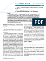 Trivedi Effect - Evaluation of Physical, Thermal and Spectroscopic Properties of Biofield Treated p-Hydroxyacetophenone