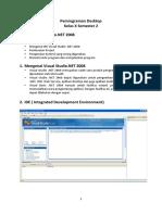 MODUL Pemrograman Desktop (VB.net)