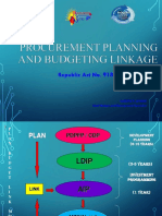 PCM- Planning Budgeting Linkage
