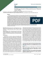 Trivedi Effect - Characterization of Biofield Energy Treated 3-Chloronitrobenzene