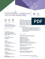 3 FPG009 Implementing Configuracao Base ERP PRIMAVERA