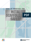 CoP for Metal Scaffolding Safety