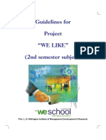 Guidelines of Project We Like 240717