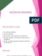 Dolor en Pediatría