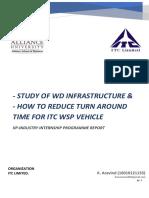 ITC - Internship Report - WD Infrastructure